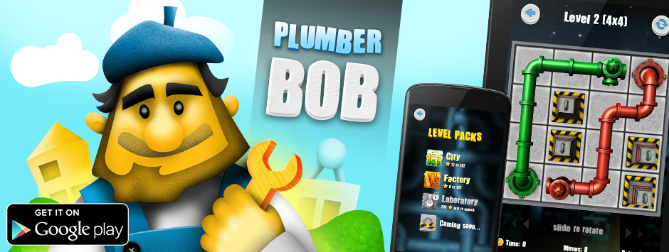 Plumber Bob conquers Google Play!