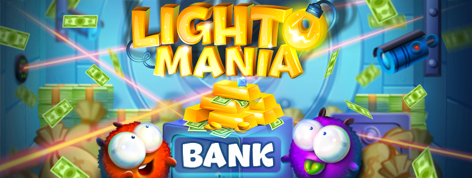 A new Bank pack is already available for Lightomania fans!