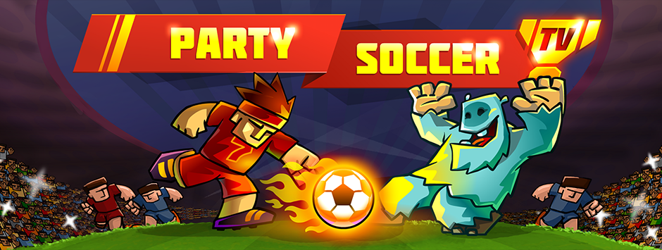 "New game ""Party Soccer TV"" on Apple TV!"